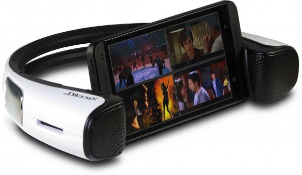 Bluetooth Lautsprecher Nitrox iStage Mini